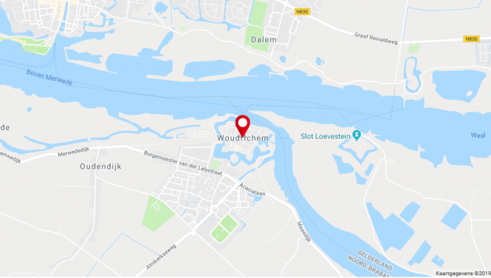 Grote brand Woudrichem